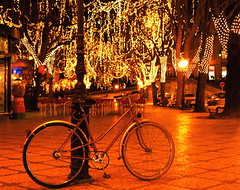 The bicycle (pedrosimoes7) Tags: christmas bike bicycle night lights o cpt bycicle viseu sr120 photophilosophy worldcitycenters pleaseaddtag judgementday46
