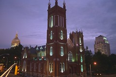 Atlanta, Church (Joe_B) Tags: city atlanta mountain church favorites images capitol stonemountain 199610atlantatravelatlanta geo:country=unitedstatesofamerica image:shot=36 camera:make=canon geo:city=atlanta camera:model=eoselan image:rating=2 geo:state=ga event:code=199610atlanta cd:id=606216310775 cd:num=41 event:Group=traceywb ga1996 roll:num=881 roll:type=1005 roll:envelope=179297 neg:page=0194 Image:CD=4161 image:Favorite=yes address:Tag=catholicshrineimmaculate image:CD=41061 event:Code=199610atlantatravelatlanta image:CDID=606216310775 image:Roll=881 image:NegPage=0194