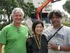 Day 21 Sachiko Hasegawa, John McLean and Filipe Tohi (te_kupenga) Tags: 2006 exhibition setup day21 johnmclean kupenga sachikohasegawa filipetohi gen06 sachikogasegawa