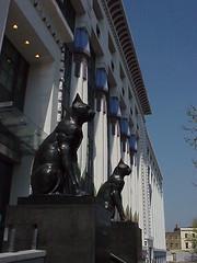 Black Cats, Carreras Cigarette Factory, London (dct66) Tags: london architecture artdeco deco carrerascigarettefactory