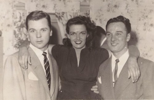 Jackie Cooper, Jane Russel and Lee Castle