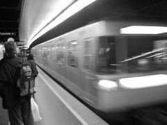 Subway (Alon_A) Tags: white black train subway great greatshot
