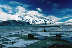 Muztagh Ata (nicointhebus (nicolas monnot)) Tags: 2005 china mountain travelling topv111 asia xinjiang silkroad karakoram himalaya muztaghata topv300 topvaa