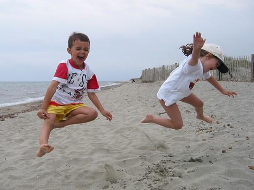 Un salto in spiaggia