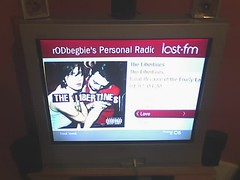 last.fm Player on TiVo HME