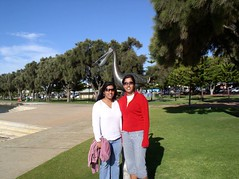 Fari and me at Mandurah (Princess_Fi) Tags: westernaustralia manduarh