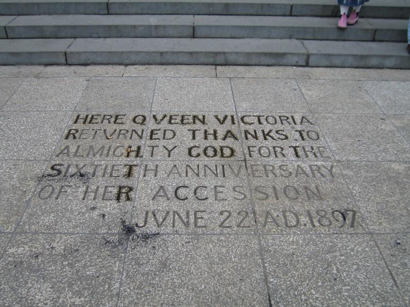Here Queen Victoria