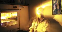 Spielburg lives in my oven (mcloud) Tags: life door city london home kitchen exposure oven angus ghost bored calm domestic heat batavia everyday today blast goldsmiths slump mcloud