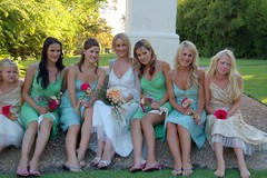 Lara and her Attendants (RobW_) Tags: wedding southafrica 2006 bridesmaids lara february stellenbosch spier moyo collard attendants feb2006 04feb2006 pieret sethlara