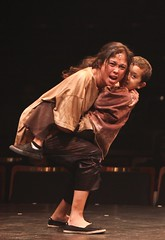 Ma-Anne Dionisio as Kim and Aiden Kusaba as Tam in Miss Saigon at Music Circus August 23-28. Photo by Charr Crail.