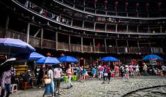 #南靖田螺土樓坑(Explore) (David C W Wang) Tags: china flickr explore 中國 漳州 東倒西歪 裕昌樓 發掘 sel1635z sonya7ii 南靖田螺土樓坑