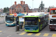 Arriva by the Thousands! (24082CH) Tags: man chester 5000 3000 pulsar ecocity vdl wrightbus arrivanorthwestwales mx59aae mx13akz