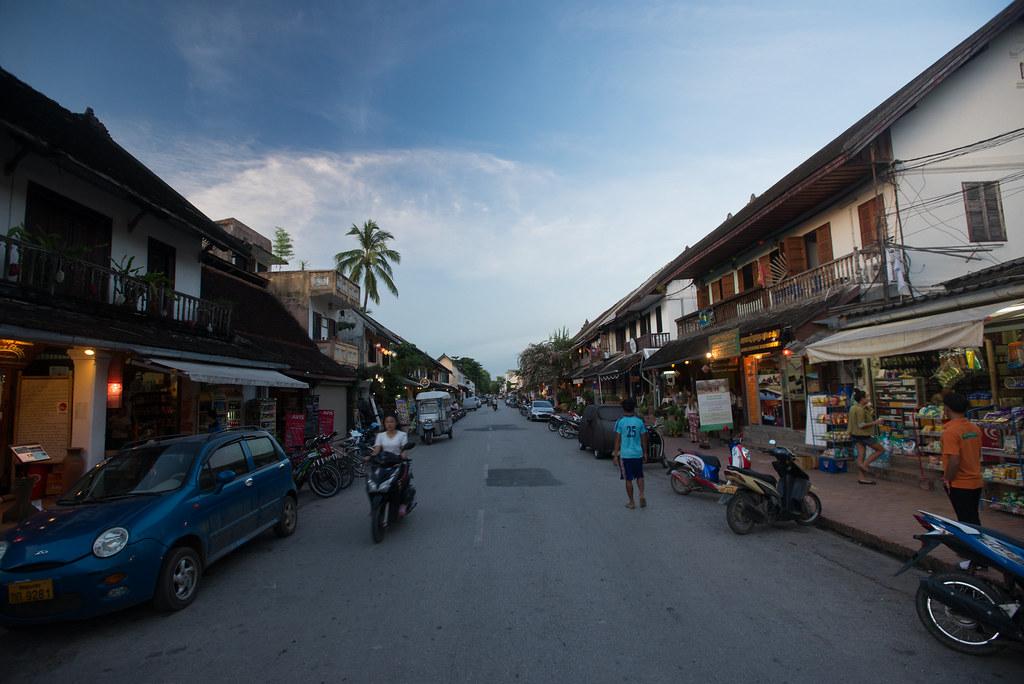 Streets of Louang Prabang