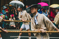 It rained for eighteen hours straight (jamiemchapman) Tags: street travel festival japan canon photography rebel kyoto traditional parade backpacking solo gion tradition float portra matsuri photogenic lightroom t3i 160 600d vscofilm