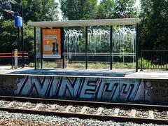 Graffiti (oerendhard1) Tags: urban streetart art station train graffiti rotterdam track tags vandalism noord