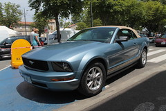 Mustang (xwattez) Tags: france ford car festival automobile voiture american mustang transports tarn cabriolet 2015 dcapotable vhicule amricaine lavaur rockcars