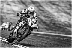 Nico MAWHINNEY      #12 ~  British Superstock 1000 Racing (Smudge 9000) Tags: summer england bw bike sport mono unitedkingdom racing gb motorcycle motor bsb superbike brandshatch 2015 round6 westkingsdown superstock1000