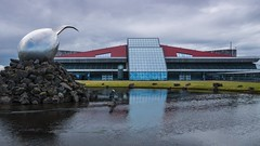 Iceland 2015 Keflavik airport (cesbai1) Tags: summer art is iceland airport sony roadtrip moderne international keflavik été slt islande a77 aéroport 2015 suðurnes