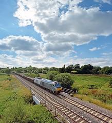 68014 at Lea Marston (robmcrorie) Tags: train rail crewe lea british railways railfan freight warwickshire marston toton 68014 6z96