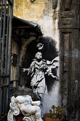 Madonna-Napoli (Justinsoul) Tags: street leica graffiti italia venus f14 madonna napoli naples mp mm 35 asph italie madone leicamp summiluxm summilux35mm neaple