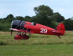 Aero Antiques Travelair Type R (Mystery Ship) Replica G-TATR (Old Buck Shots) Tags: egsv ks gtatr keith sowter