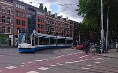 Omleiding (Peter ( phonepics only) Eijkman) Tags: city holland netherlands amsterdam transport nederland tram rail rails trams noordholland gvb tramtracks combino nederlandse