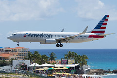 DSC_8386Pwm (T.O. Images) Tags: beach st airport princess american boeing juliana airlines maho maarten sxm 737 n926nn