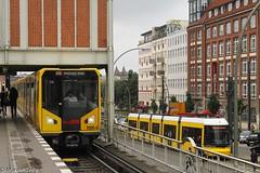 U-Bahn meets Tram (Marvin_Setio) Tags: berlin tram ubahn bombardier bvg strasenbahn flexity
