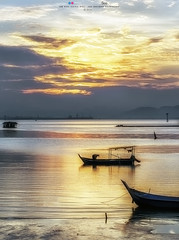 Fisherman (Ah Wei (Lung Wei)) Tags: penang penangisland georgetown pulaupinang malaysia georgetownpenang my sunrises sunset sunsets landscape shore clouds sunrise dovejetty jelutongexpressway jelutongfishermenwharf nikon50mmf18g 50mmf18g nikond750 nikon ahweilungwei fullframe fx
