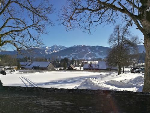 #Winter wonderland framed by #nature. #Honor8