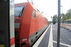 DB Adtranz Class 101 #101 092-5 (91 80 6101 092-5 D-DB) (busdude) Tags: db adtranz class 101 0925 91 80 6101 ddb bad benthiem badbenthiem ns nederlandse spoorwegen deutsche bahn nederlandsespoorwegen deutschebahn ic 141 intercit