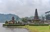Bedugul Lake Temple (Arushad) Tags: arushad bali bedugul indonesia puraulundanubratan travel water arushadahmed dash8x grass hill idol lake temple thatched