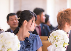 Chapel wedding (Apricot Cafe) Tags: img14242 20s asianethnicity canonef70200mmf28lisiiusm chiba japan japaneseethnicity narita beauty bride ceremony cerenity chapel charming cheerful communication couple dress enjoying formal groom happiness hotel indoors man party portrait togetherness twopeople wedding weddingdress woman youngadult naritashi chibaken jp