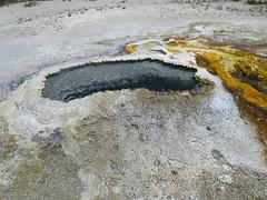 Upper Geyser Basin #16 (Ear Spring) (jimsawthat) Tags: thermalfeature uppergeyserbasin yellowstyonenationalpark rural wyoming