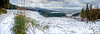 Snowy Panorama (stumpyheaton) Tags: white england trees tree uk outside photoshop panorama pano sky d5100 district day forest hills hill landscape clouds cheshire view valley nikon peak teegs nose snow