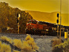 Splitting the Signals (Douglas H Wood) Tags: crozier canyon arizona bnsf trains transcon eastbound us66 motherroad