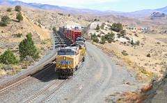 Oxman, Oregon (UW1983) Tags: trains railroads unionpacific up intermodaltrains oxman oregon huntingtonsubdivision