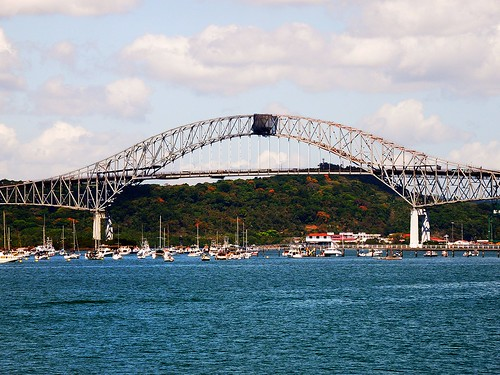 Bridge of the Americas OR Puente de las Américas OR Thatcher Ferry Bridge - Panama 19