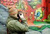 Say Shark Bait! (Georgie_grrl) Tags: torontophotowalks social photographers friends outing topw2017rs graffitialley graffiti streetart expression creative colourful andrew friend pentaxk1000 rikenon12828mm alley