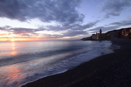 Camogli's sunset