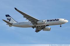 F-WXAJ Airbus A330 Iran Air (Maxime Spotting Aviation) Tags: fwxaj airbus a330 a330200 iran air landing aircraft avion airlines airways bordeaux mérignac lfbd airport maxime camoujuncas nikon d90