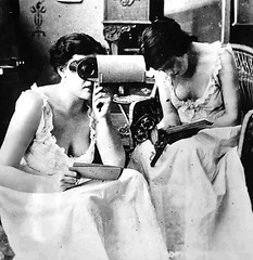 Viewfinder (~ Lone Wadi ~) Tags: viewfinder prostitutes brothel retro 1910s unknown bordello candid