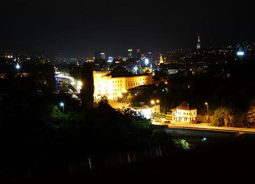 Szarajevó, Látkép a belvárosra