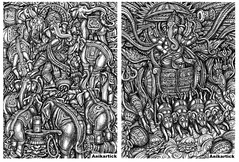 ANI / ART / DRAWING / ILLUSTRATION / PAINTING / SKETCHES / Anikartick (Artist ANIKARTICK,Chennai(T.Subbulapuram VASU)) Tags: ani aniart aniartist anikartick anikarthik anikartickart artist art drawing painting illustration sketches god goddrawings godart godpaintings godillustration godsiva godshiva lordshiva lordvishnu godvishnu godkrishna littlekrishna maa maadurga parvati maaparvati goddess hanuman tamilart tamilartist pendrawing india chennai