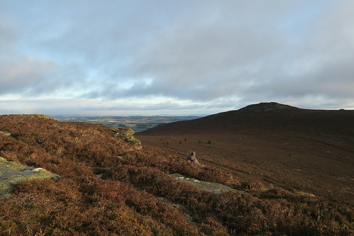Windy day on Bennachie