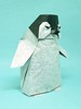 Baby Penguin, designed by Yoo Tae Yong (M@ttyGroves) Tags: origami baby penguin yootaeyong paper