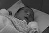 Sofia (frogghyyy) Tags: baby cousin newborn sleepy sleep blackwhite bw biancoenero cute infant love portrait
