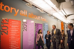 New York City Mayor Bill de Blasio met with tech workers at AppNexus today to unveil the latest designs and details for the new Union Square Tech Hub on Friday, February 17th, 2017. The Union Square tech hub is a City-backed project to provide space for t (nycmayorsoffice) Tags: tech startup appnexus techub office work workers training jobs employment technology