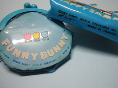 1982 Funny Bunny & Happy Sammy - Fancy World - Coin Purses (My Sweet 80s) Tags: funnybunny 1982 madeintaiwan fancyworldcreationsinc fancyworld portamonete coinpurse purse cartoleriavintage anni80 80s 80sstationery vintagestationery coniglietto rabbit happysammy bunny coniglio taiwan wallet portafogli portafoglio wallets borsellino portaspiccioli