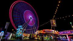 Light Trails (Victor Mitri) Tags: dubai longexposure night photography festival festivalcity canon 5ds